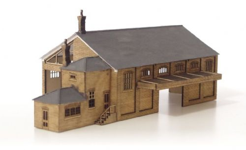 ARCHN0023 Arch Laser : Large Goods Shed based on Tetbury (GWR) N Gauge